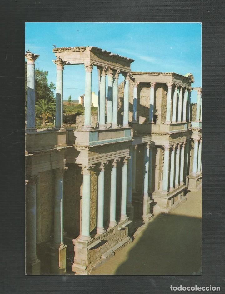 POSTAL SIN CIRCULAR - MERIDA 103 - TEATRO ROMANO - EDITA ARRIBAS (Postales - España - Extremadura Moderna (desde 1940))