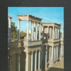 Postales: POSTAL SIN CIRCULAR - MERIDA 103 - TEATRO ROMANO - EDITA ARRIBAS. Lote 222126296