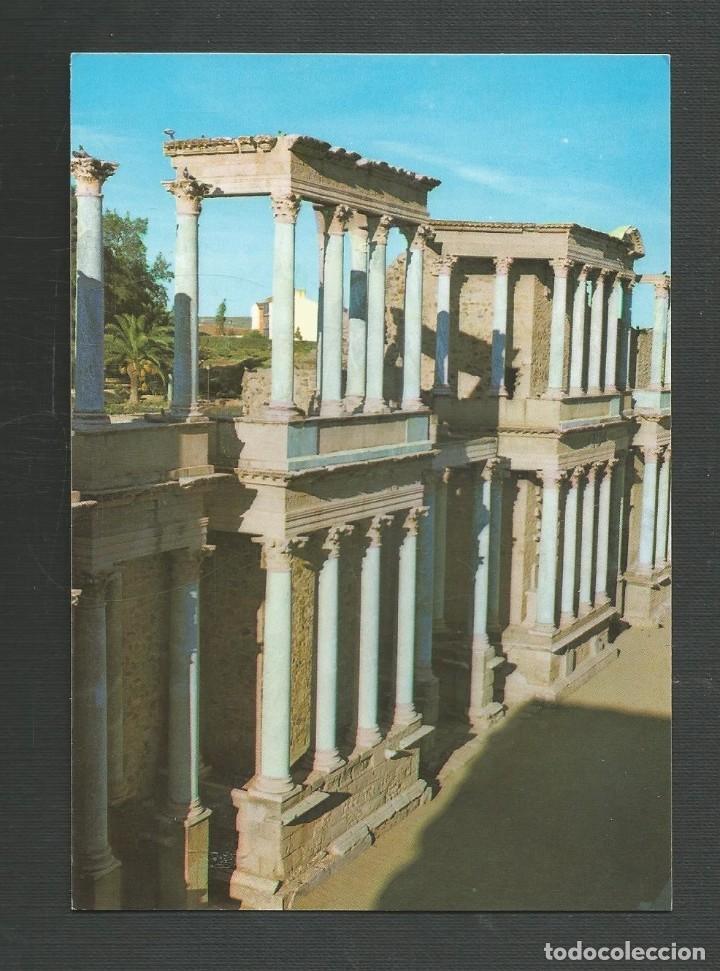 POSTAL SIN CIRCULAR - MERIDA 103 - TEATRO ROMANO - BADAJOZ - EDITA ARRIBAS (Postales - España - Extremadura Moderna (desde 1940))