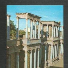 Postales: POSTAL SIN CIRCULAR - MERIDA 103 - TEATRO ROMANO - BADAJOZ - EDITA ARRIBAS. Lote 222126856