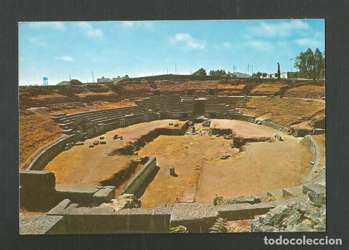 POSTAL SIN CIRCULAR - MERIDA 64 - ANFITEATRO ROMANO - BADAJOZ - EDITA ARRIBAS (Postales - España - Extremadura Moderna (desde 1940))