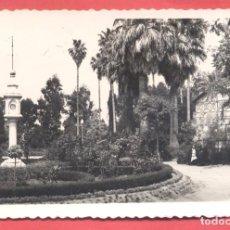 Postales: BADAJOZ 21 PARQUE DE CASTELAR, VARIEDAD ED. M. ARRIBAS EN REVERSO. DENTADA, S/C, VER FOTOS. Lote 222391132