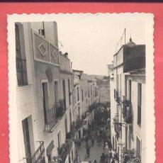 Postales: BADAJOZ 61 TIPICA CALLE DE LA ZAPATERIA, VARIEDAD ED. M. ARRIBAS. EN REVERSO DENTADA, S/C,. Lote 222396421