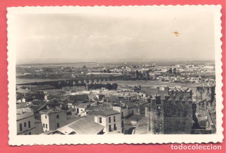 BADAJOZ 62 VISTA PANORAMICA, VARIEDAD ED. M. ARRIBAS. EN REVERSO DENTADA, S/C, (Postales - España - Extremadura Moderna (desde 1940))