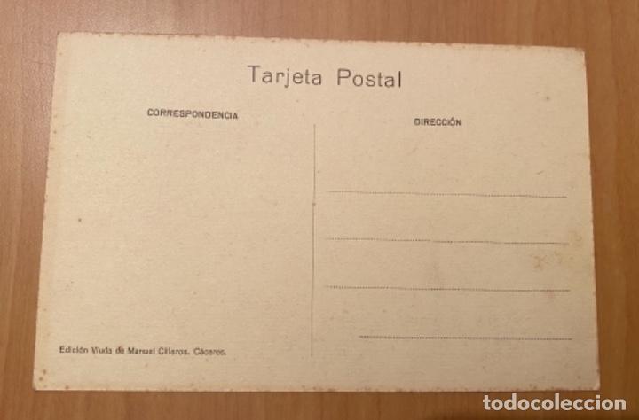 Postales: Cáceres, Plaza de Toros, postal años 20/30 - Foto 2 - 222505203