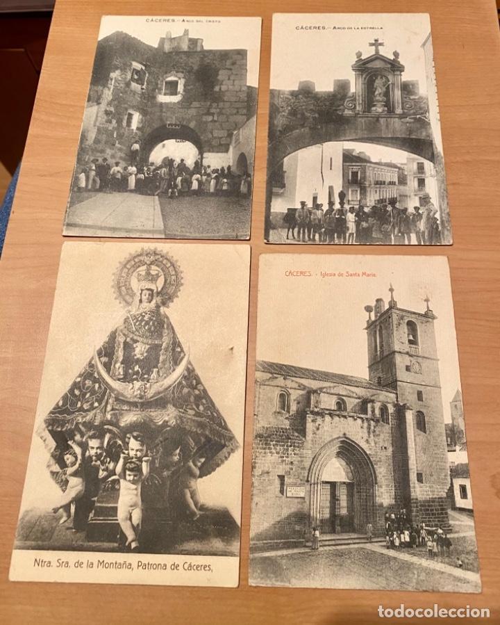 CÁCERES, 20 POSTALES ANTIGUAS AÑOS 20/30 . ORIGINALES, NO SON REPRODUCCIONES (Postales - España - Extremadura Antigua (hasta 1939))