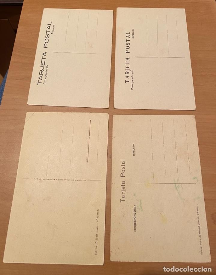 Postales: Cáceres, 20 postales antiguas años 20/30 . Originales, no son reproducciones - Foto 2 - 222510953