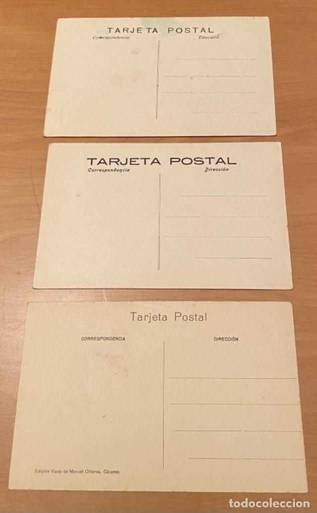Postales: Cáceres, 20 postales antiguas años 20/30 . Originales, no son reproducciones - Foto 6 - 222510953