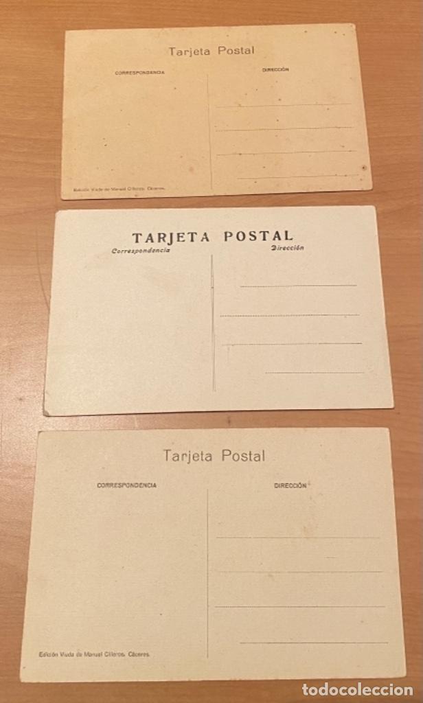 Postales: Cáceres, 20 postales antiguas años 20/30 . Originales, no son reproducciones - Foto 7 - 222510953