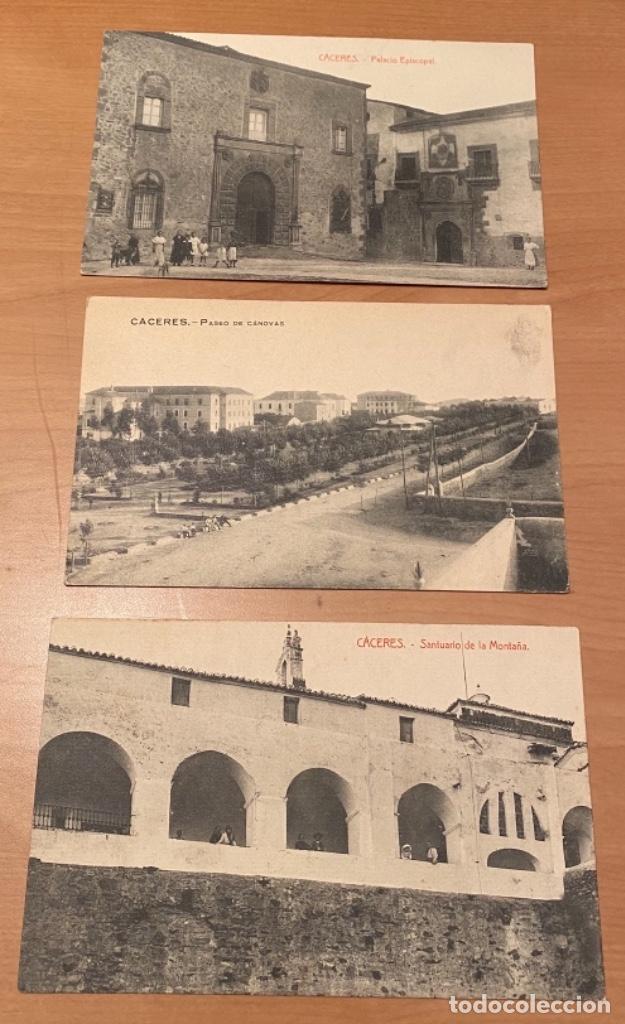 Postales: Cáceres, 20 postales antiguas años 20/30 . Originales, no son reproducciones - Foto 10 - 222510953