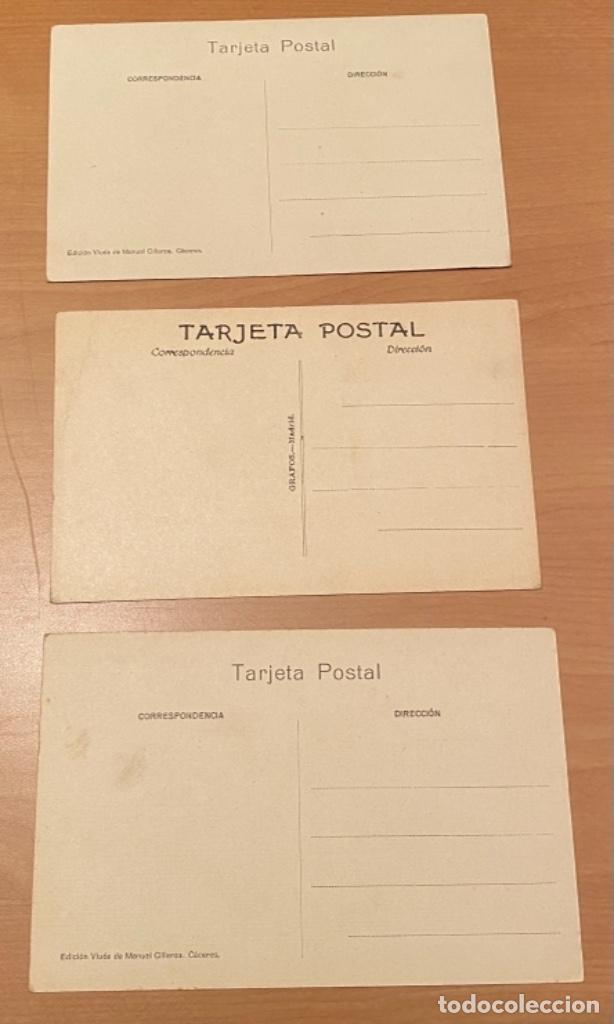 Postales: Cáceres, 20 postales antiguas años 20/30 . Originales, no son reproducciones - Foto 11 - 222510953