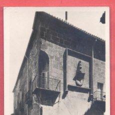 Postales: CACERES , 10 CASA DE LOS CARBAJALES, FOT. JAVIER ,S/C, VER FOTOS. Lote 222836525