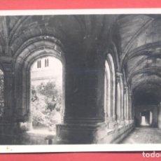 Postales: ALCANTARA (CACERES) 73 CLAUSTRO DE SAN BENITO, S/C ,CON SELLO EN REVERSO, VER FOTOS. Lote 222841123