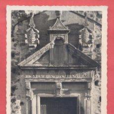 Postales: CACERES, 43 PORTADA DEL CONVENTO DE SANTA CLARA, EDICIONES VALA. CIRCULADA 1955 SIN SELLO. Lote 222871985