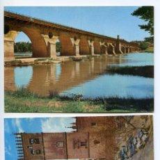 Postales: BADAJOZ. DOS POSTALES DE EDICIONES ARRIBAS 2012 Y 2025. Lote 222915127