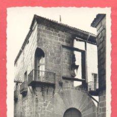 Postales: CACERES 112 CASA DE CARVAJAL, EDICIONES ARRIBAS, S/C, VER FOTOS. Lote 222926795