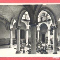 Postales: CACERES 14 PATIO DE LA CASA DE LOS PEREROS, EDICIONES ARRIBAS, S/C, VER FOTOS. Lote 222930790
