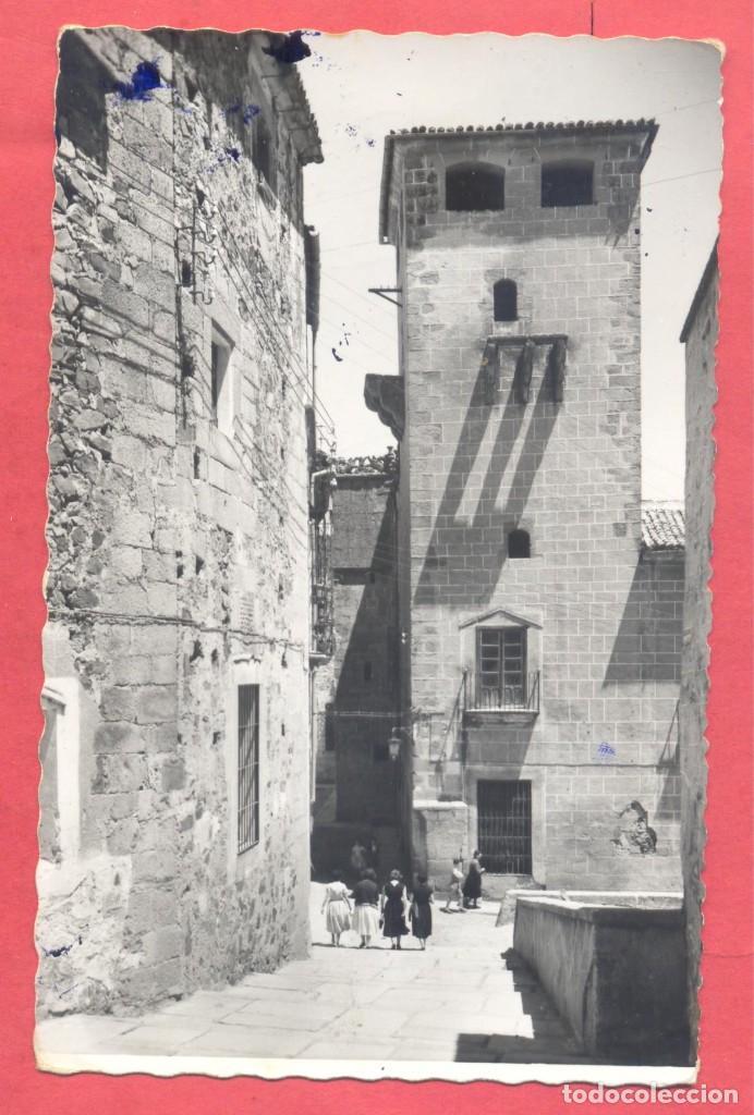 CACERES 21 TORREON DE LOS GOLFINES DE ABAJO , EDICIONES GARCIA GARRABELLA, CIRCULADA 1961,.DENTADA (Postales - España - Extremadura Moderna (desde 1940))