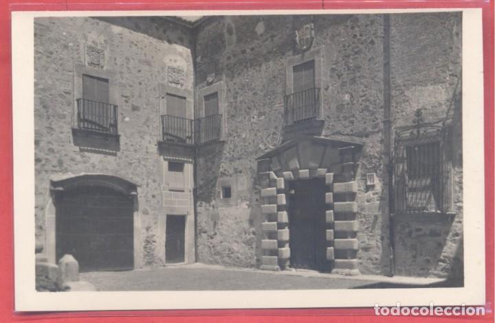 CACERES, 30 CASA DEL MARQUES DE CASTRO SERNA, EDICIONES GARCIA GARRABELLA,.LISA, S/C, VER FOTOS (Postales - España - Extremadura Moderna (desde 1940))