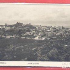 Postales: 1 CACERES VISTA GENERAL, L.ROISIN FOTOGRAFO TITULOS EN ANVERSO, ED, INFONAL , S/C, VER FOTOS. Lote 223742618