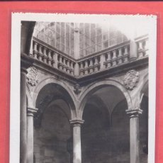 Postales: CACERES CASA DE ROCO .PATIO SIGLO XVI SIN EDITOR, TIULOS EN VERTICAL REVERSO, S/C VER FOTOS. Lote 223746730