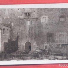 Postales: CACERES, CASA FUERTE DE OVANDO-MOGOLLON SIGLO XIV,SIN EDITOR, TITULOS EN VERTICAL REVERSO, S/C. Lote 223754923