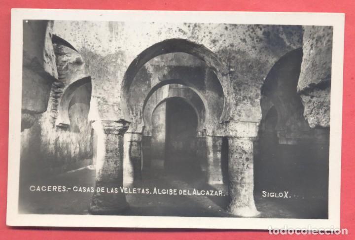 CACERES, CASAS DE LAS VELETAS SIGLO X, ED. GM/WB, S/C.VER FOTOS (Postales - España - Extremadura Antigua (hasta 1939))