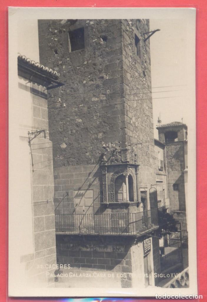 CACERES, PALACIO GALARZA, CASA DE LOS TRUCOS, SIGLO XVI , ED. GM/WB, S/C.VER FOTOS (Postales - España - Extremadura Antigua (hasta 1939))