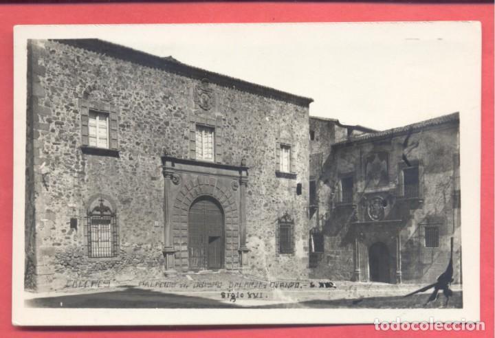CACERES, PALACIO DEL OBISPO GALARZA Y OVANDO SIGLO XVI. ED. GM/WB, VARIEDAD TITULOS LETRAS NEGRAS, (Postales - España - Extremadura Antigua (hasta 1939))