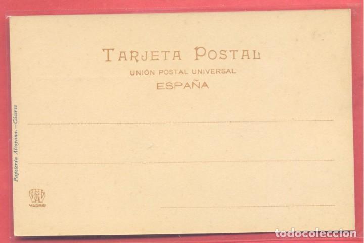 Postales: caceres, casa arabe de la cuesta de aldana, fot. echaluce.papeleria alcoyana, reverso sin dividir, - Foto 2 - 223821786