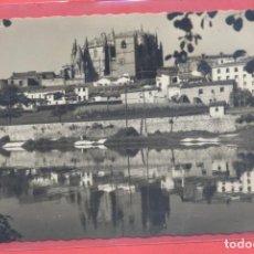 Postales: PLASENCIA (CACERES) 115 LA CATEDRAL DESDE EL RIO, ED. LIB. CERVANTES, S/C. Lote 223859153