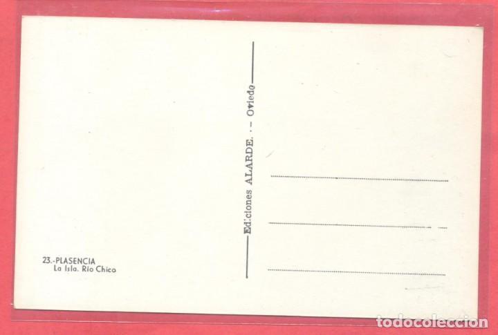 Postales: plasencia (caceres) 23 la isla.rio chico. ediciones alarde,s/c, ver fotos - Foto 2 - 223863561