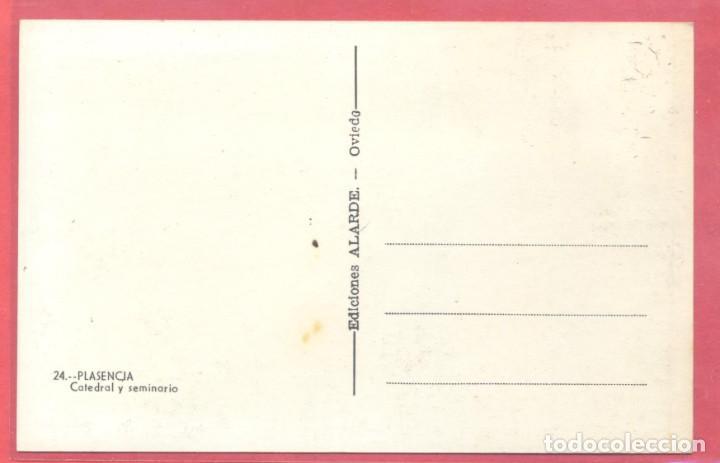 Postales: plasencia (caceres) 24 catedral y seminario. ediciones alarde,s/c, ver fotos - Foto 2 - 223863727