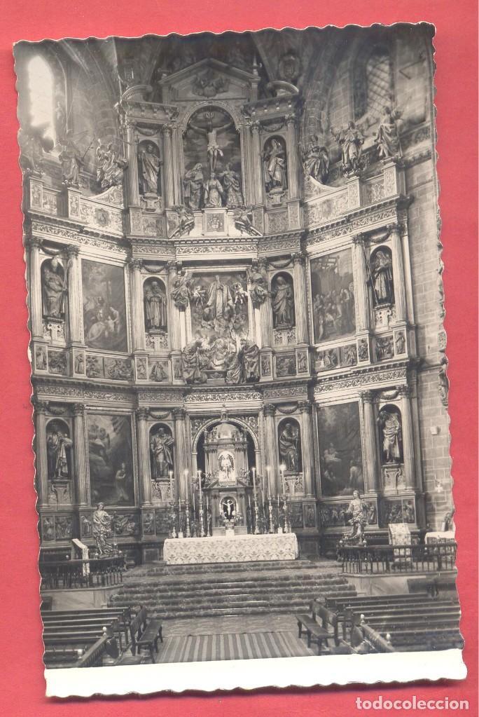 PLASENCIA (CACERES) 9 CATEDRAL, RETABLO DEL ALTAR MAYOR , GARCIA GARRABELLA,Y CIA, S/C, (Postales - España - Extremadura Moderna (desde 1940))