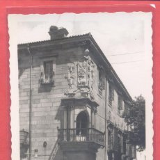 Postales: PLASENCIA (CACERES) 10 CASA DEL DEAN, ED. ARRIBAS,CIRCULADA SIN SELLO NI FECHA, VER FOTOS. Lote 223936001