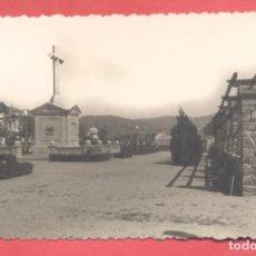 Postales: PLASENCIA (CACERES) 38 CRUZ DE LOS CAIDOS, EDICIONES ARRIBAS VARIEDAD REVERSO, CIRCULADA 1953 SIN SE. Lote 223941756