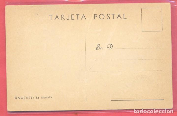 Postales: caceres, la montaña, sin editor, color sepia, s/c, ver fotos - Foto 2 - 224238888