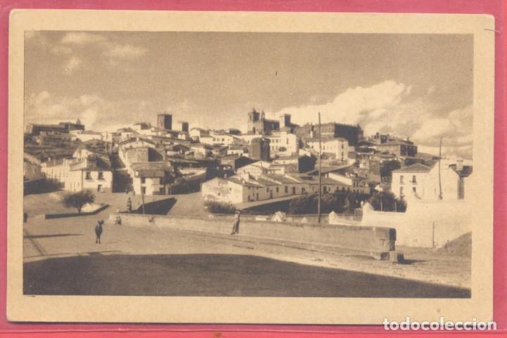 CACERES, VISTA PARCIAL,,SIN EDITOR, COLOR SEPIA, S/C, , VER FOTOS (Postales - España - Extremadura Antigua (hasta 1939))