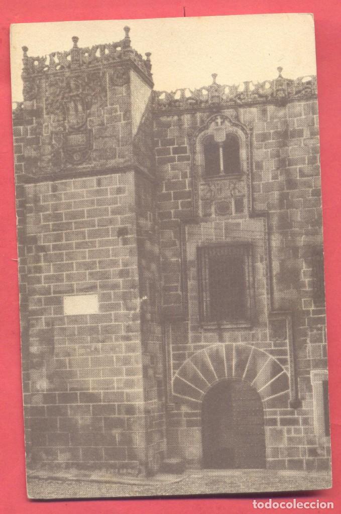 CACERES, SIN TITULO,,SIN EDITOR, S/C,EN EL REVERSO PONE A LAPIZ CASA DE LOS GOLFINES, VER FOTOS (Postales - España - Extremadura Antigua (hasta 1939))