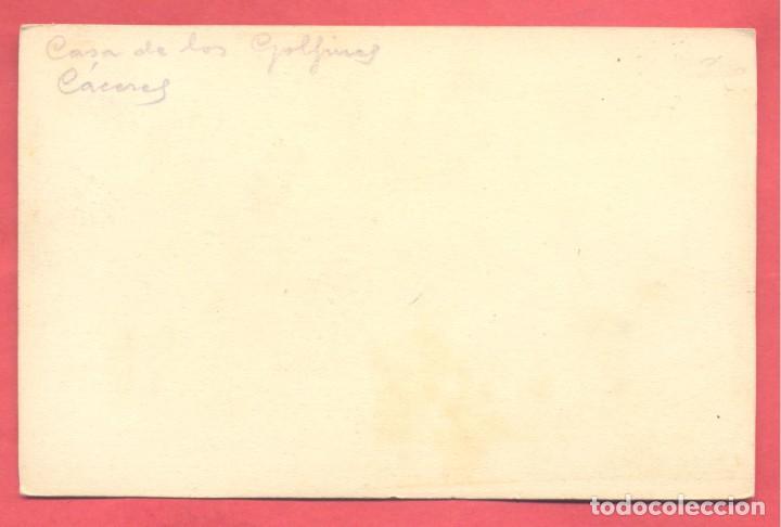 Postales: caceres, sin titulo,,sin editor, s/c,en el reverso pone a lapiz casa de los golfines, ver fotos - Foto 2 - 224251393