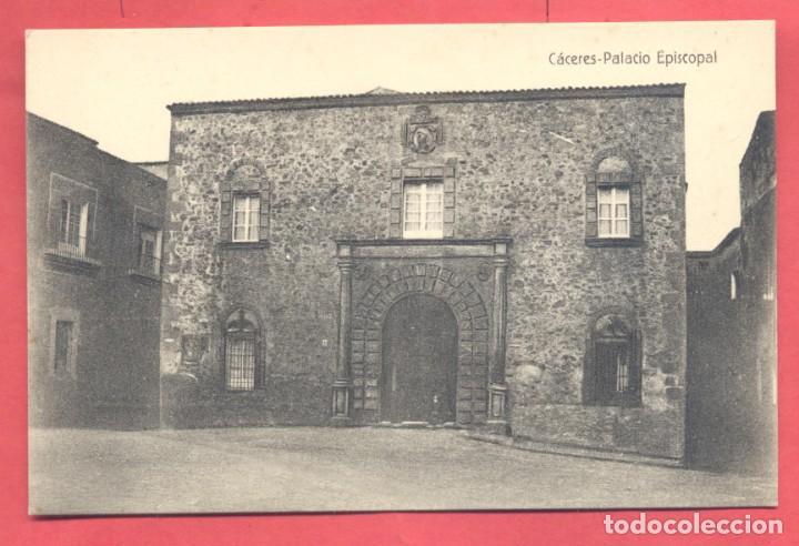 CACERES, PALACIO EPISCOPAL,,SIN EDITOR, S/C VER FOTOS (Postales - España - Extremadura Antigua (hasta 1939))