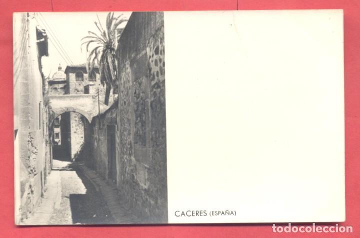 CACERES,(ESPAÑA) , SIN EDITOR, CIRCULADA 1965 SIN SELLO, VER FOTOS (Postales - España - Extremadura Antigua (hasta 1939))