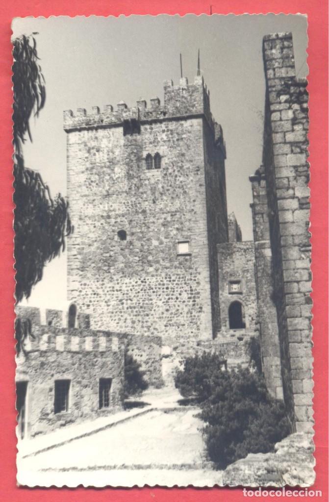 ALBURQUERQUE (BADAJOZ) SIN TITULO, FOTO ALVAREZ, CIRCULADA 1968 SIN SELLO, VER FOTOS (Postales - España - Extremadura Moderna (desde 1940))