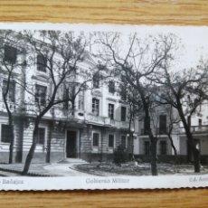 Postales: POSTAL BADAJOZ 4. GOBIERNO MILITAR 11-4-1957. Lote 224720191