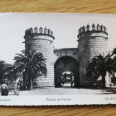 Postales: POSTAL BADAJOZ 7. PUERTA DE PALMA 16-3-1954. Lote 224720598