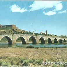 Cartes Postales: POSTAL A COLOR Nº 6 MEDELLIN BADAJOZ PUENTE ROMANICO SOBRE EL RIO TAJO. Lote 225137235
