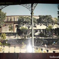 Postais: Nº 40821 POSTAL ALMENDRALEJO BADAJOZ PARQUE Y PLAZA DE TOROS. Lote 225161321
