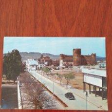 Postales: POSTAL ZAFRA. PLAZA ALCÁZAR Y CASTILLO.. Lote 225286015