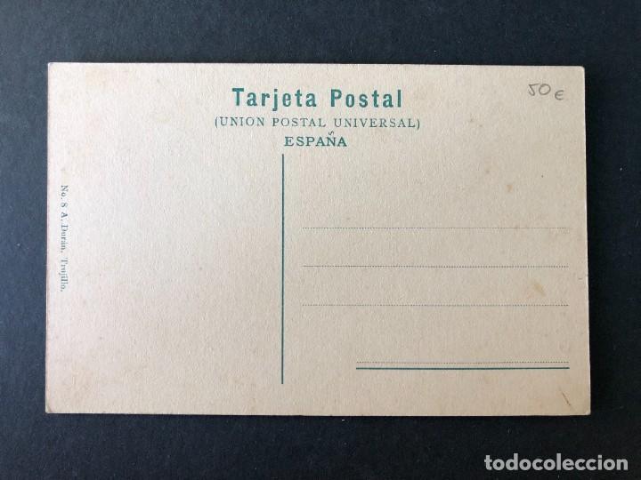 Postales: POSTAL CÁCERES. TRUJILLO. CALLE DE LA MERCED. A. DURÁN. - Foto 2 - 54606336