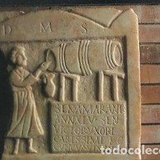 Cartes Postales: POSTAL A COLOR MUSEO NACIONAL DE ARTE ROMANO MERIDA Nº 20 LAPIDA FUNERARIA DE TABERNERA S I D C. Lote 226764815